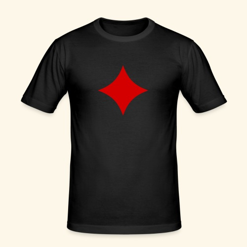 Poker - Männer Slim Fit T-Shirt