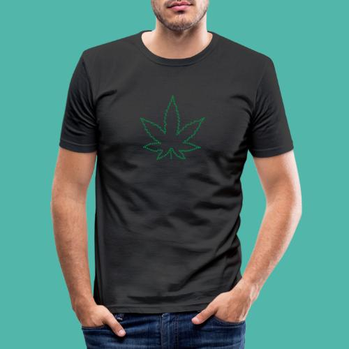 Marijuana - Männer Slim Fit T-Shirt