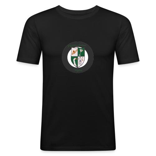 Pieni vaakuna - Miesten tyköistuva t-paita
