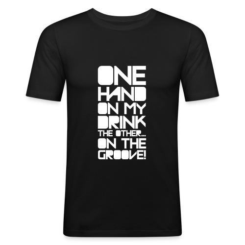 groove3 - Men's Slim Fit T-Shirt