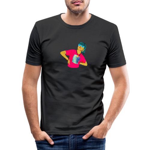 kig op - Herre Slim Fit T-Shirt