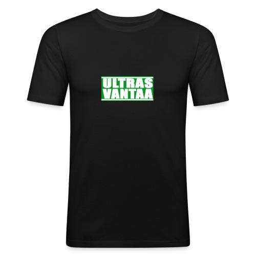 Ultras vantaa box - Miesten tyköistuva t-paita