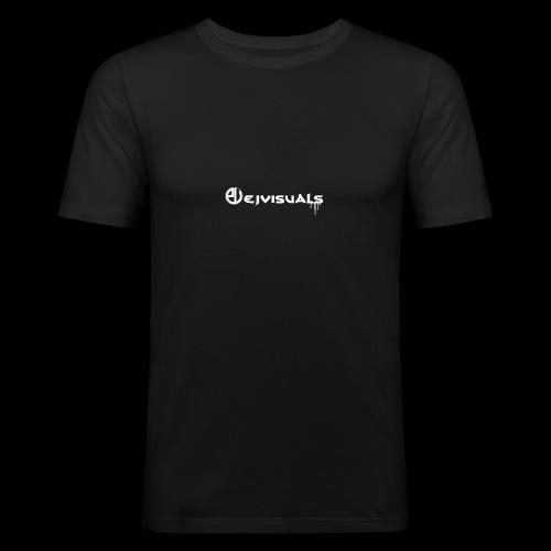 - EJVisuals Logo - Mannen slim fit T-shirt