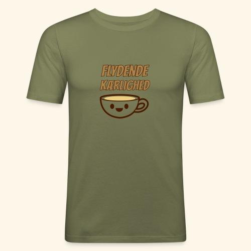 Flydende kærlighed - Herre Slim Fit T-Shirt