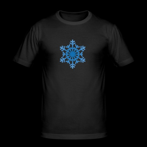 Snowflake - Herre Slim Fit T-Shirt