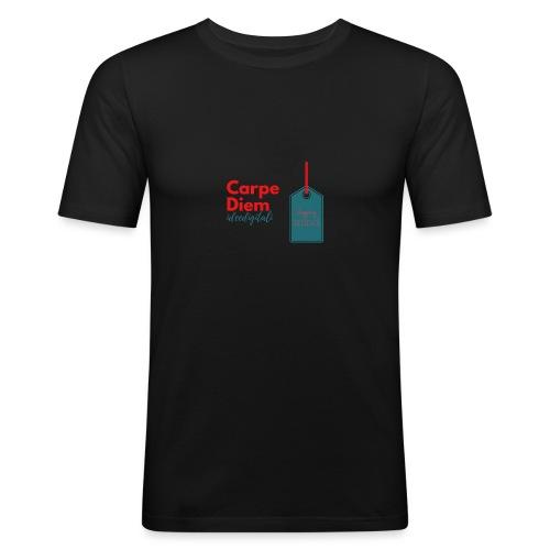 carpe diem - Maglietta aderente da uomo