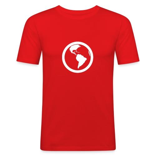 Earth - Maglietta aderente da uomo