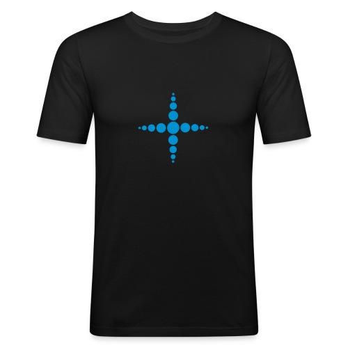 Clock - Men's Slim Fit T-Shirt