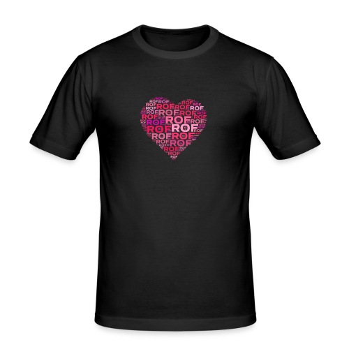 Heart - Männer Slim Fit T-Shirt