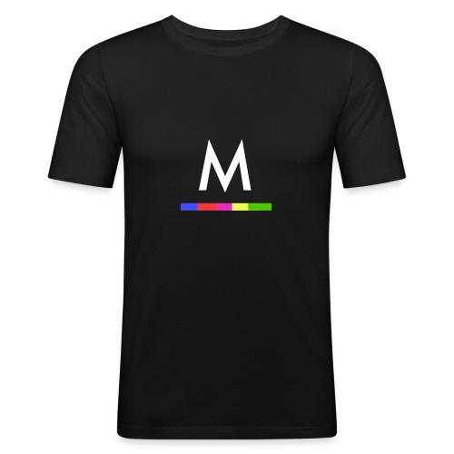 Metro - Camiseta ajustada hombre