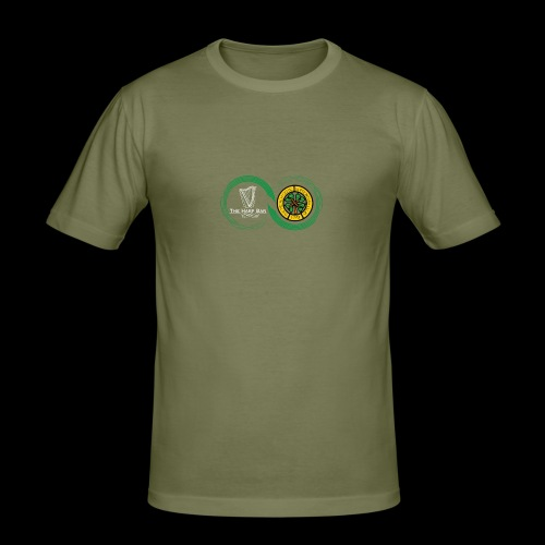 Harp and French CSC logo - T-shirt près du corps Homme