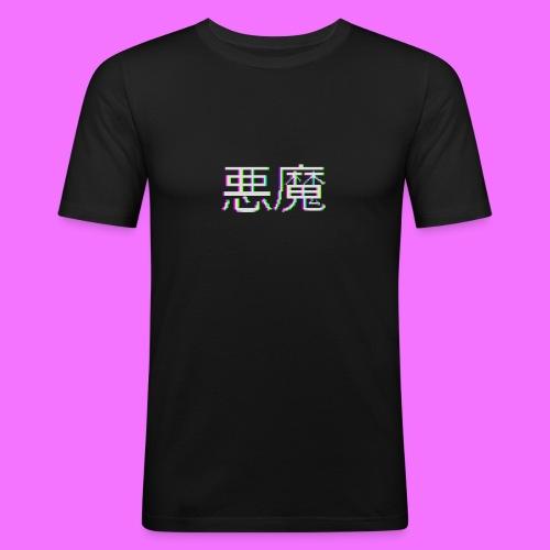 Akuma - Miesten tyköistuva t-paita