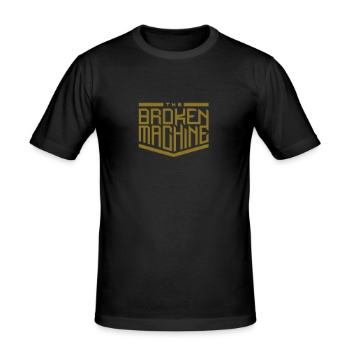 TheBrokenMachine Logo - Men's Slim Fit T-Shirt