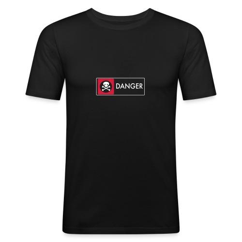 Danger - Men's Slim Fit T-Shirt