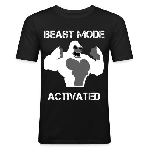 design shirt 03 - T-shirt près du corps Homme