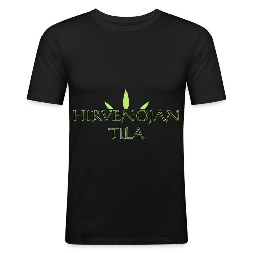Hirvenojantila - Miesten tyköistuva t-paita