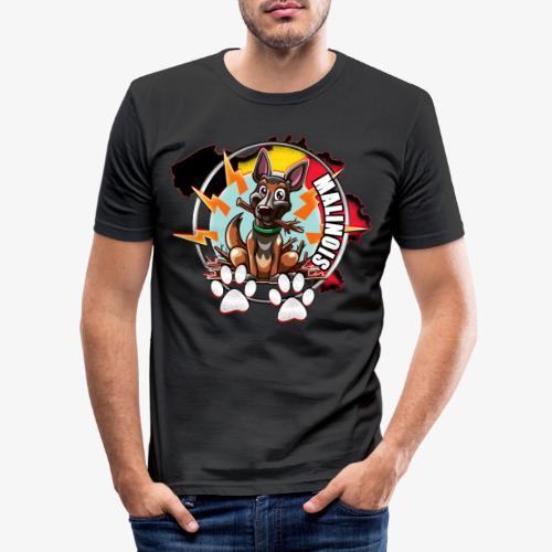 malinois - T-shirt près du corps Homme
