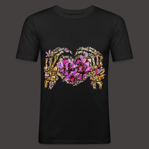 L amour Cristallin Creepy - T-shirt près du corps Homme