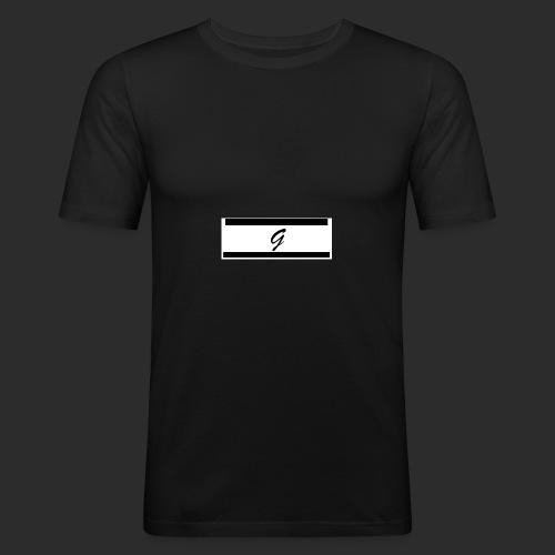 GAZIANDGAIN KOL TWO - Männer Slim Fit T-Shirt