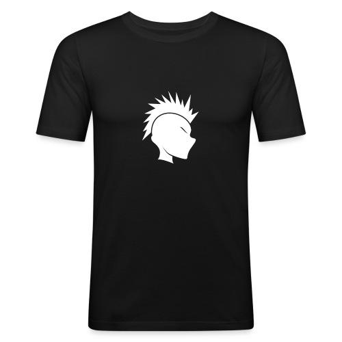 Cally Mohawk Logo - Men's Slim Fit T-Shirt