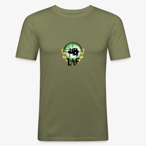 Load Aim Fire Merchandise - Mannen slim fit T-shirt