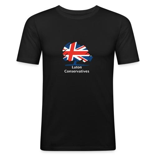 Luton Conservatives - Men's Slim Fit T-Shirt