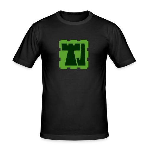 Tänään Jäljellä -logo - Miesten tyköistuva t-paita