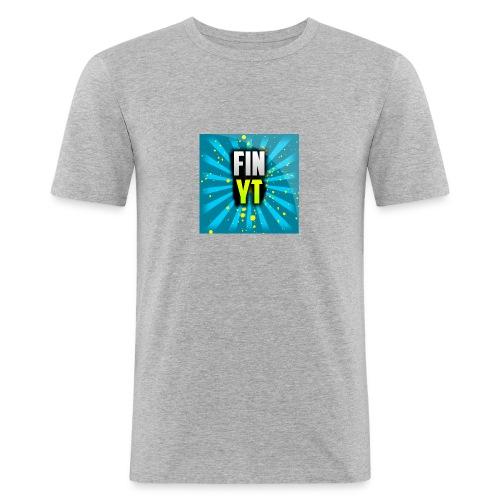 Uusi Youtube Logo - Miesten tyköistuva t-paita