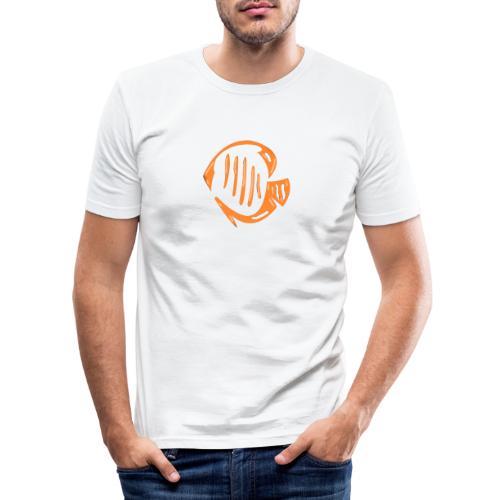Aquarium Adventures Logo - Men's Slim Fit T-Shirt