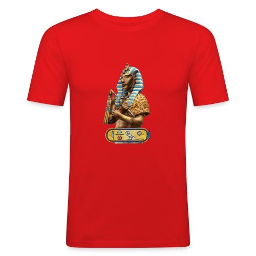 Echnaton - Ach-en-Aton - Der Sohn des ATON - Männer Slim Fit T-Shirt