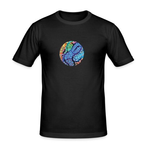 concentric - Men's Slim Fit T-Shirt
