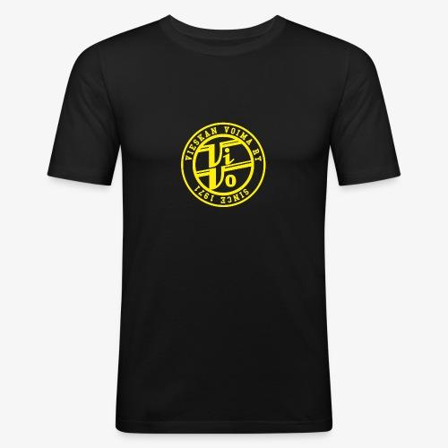 ViVoPAITA transparent - Miesten tyköistuva t-paita