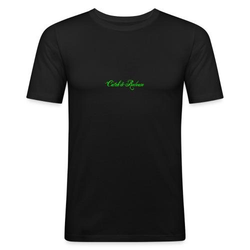 Catch N Release Neon Green - T-shirt près du corps Homme