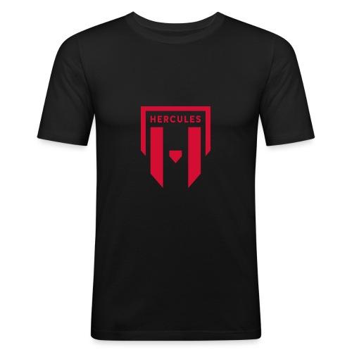 JS Hercules, new logo - Miesten tyköistuva t-paita
