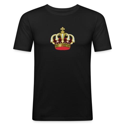 crown 296403 960 720 - Männer Slim Fit T-Shirt