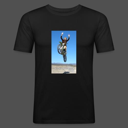 Stuntvrouw (v) - Mannen slim fit T-shirt
