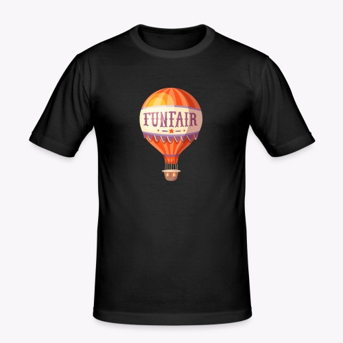 Vintage Balloon - Men's Slim Fit T-Shirt