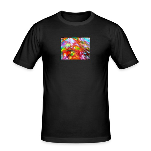 abstract 1 - Men's Slim Fit T-Shirt