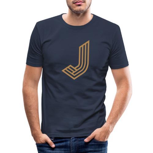 JurmalaJ - Männer Slim Fit T-Shirt