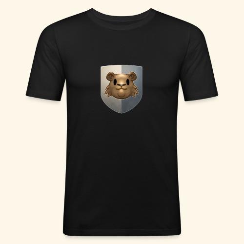 marmottes blason HD - T-shirt près du corps Homme