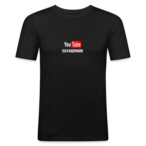 savagemark - Slim Fit T-skjorte for menn