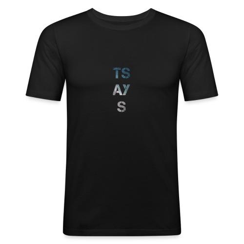 TSAYS - Maglietta aderente da uomo