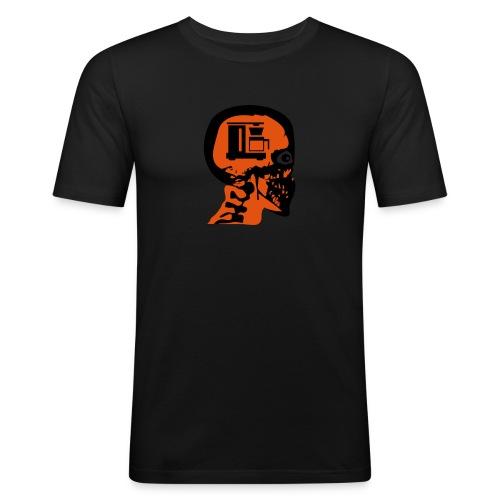 kaffeskalle - Slim Fit T-skjorte for menn