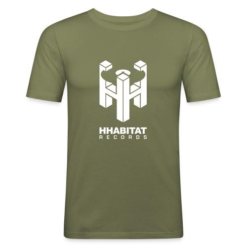 HHabitat Records Logo - Maglietta aderente da uomo