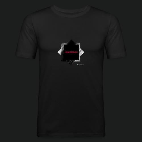 New logo t shirt - Mannen slim fit T-shirt