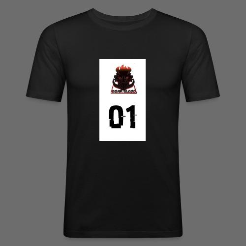 Boar blood 01 - Obcisła koszulka męska
