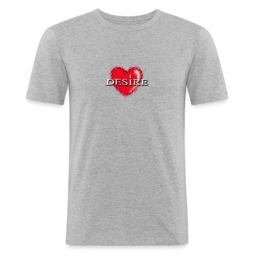 Desire Nightclub - Men's Slim Fit T-Shirt
