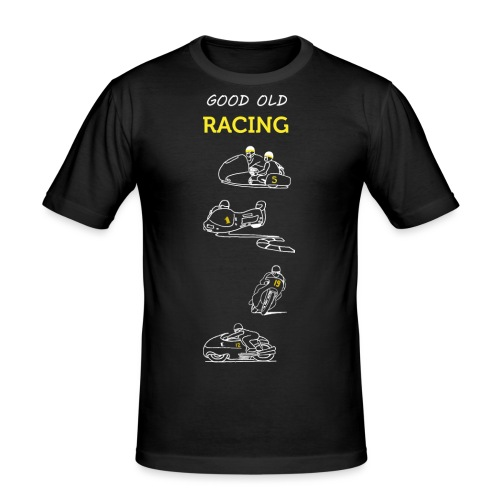 Good old racing - T-shirt près du corps Homme