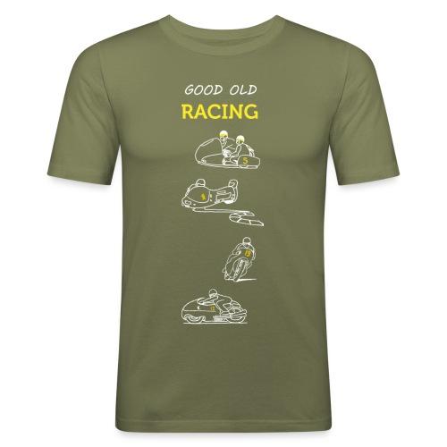 Good old racing - Men's Slim Fit T-Shirt