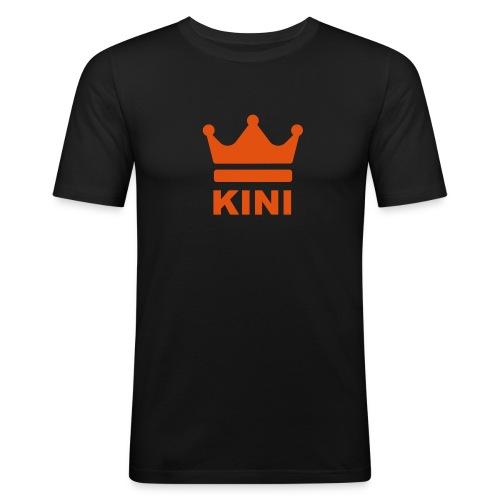 KINI ist König - Männer Slim Fit T-Shirt